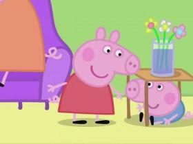 """《小猪佩奇》通过经典游戏""""躲猫猫""""与孩子产生联结"""