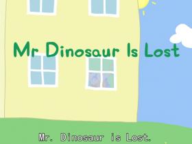 小猪佩奇英文版重点词组讲解第1季第2集--恐龙先生不见了