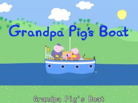 《小猪佩奇》剧情介绍和粉红猪小妹英文版字幕:第一季第48集